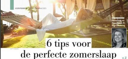 6 tips voor de perfecte zomerslaap